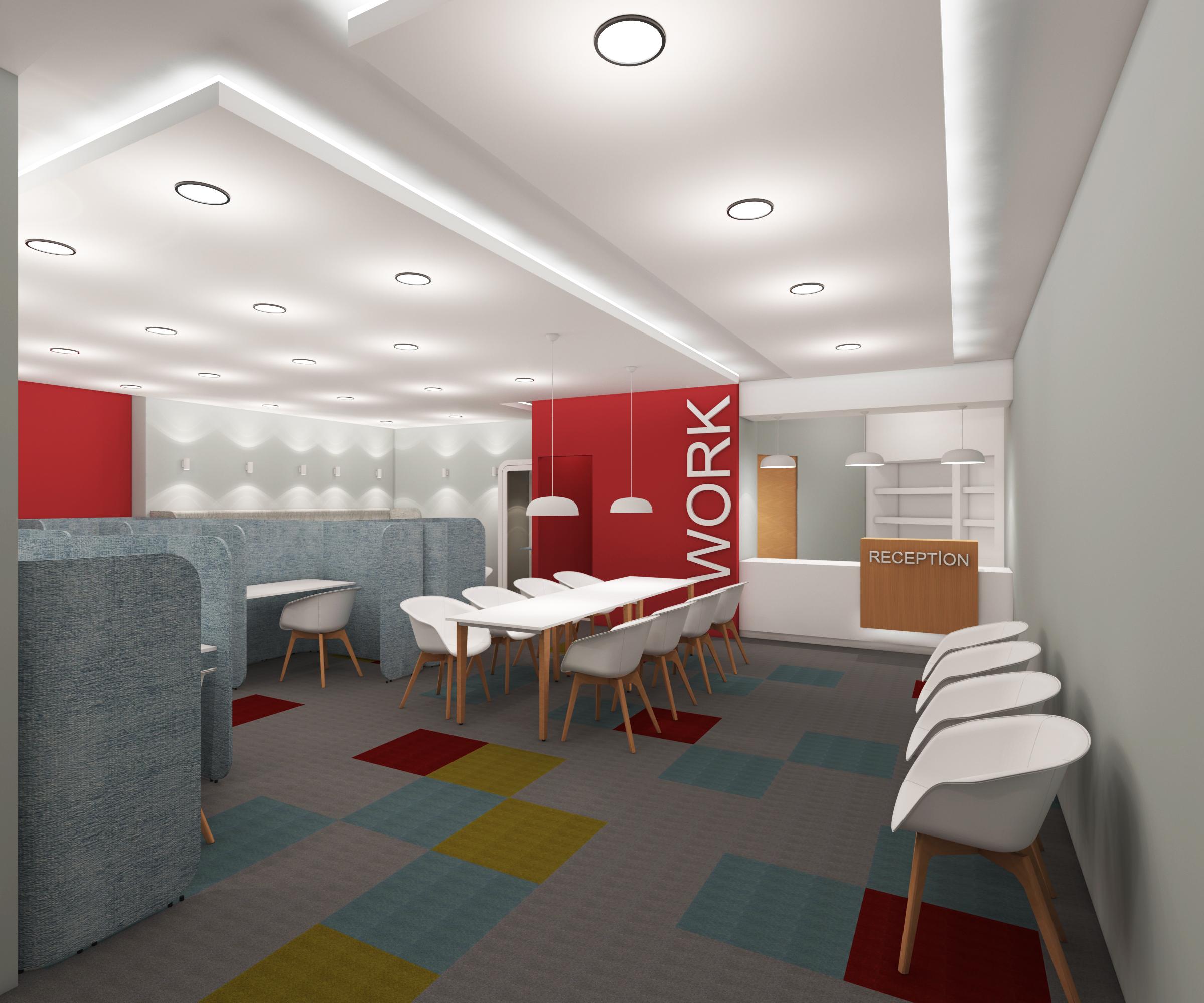 Work Hub (Çalışma Alanı) Tasarımı