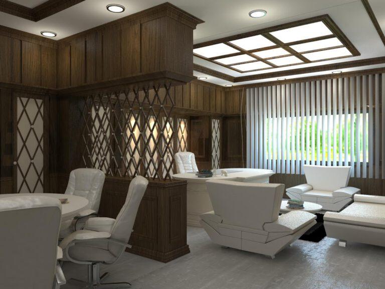 Klasik Yönetici Ofis Tasarımı