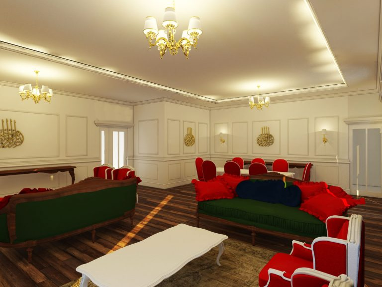 Esenler Klasik Salon Tasarımı